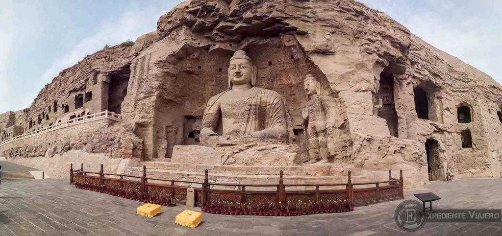 Buda cueva 20 (Yungang, Datong)