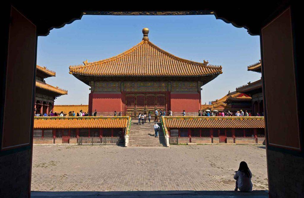 Palacio de la Unión. Ciudad Prohibida de Pekin