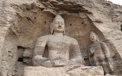 Datong: Monasterio colgante y grutas de Yungang