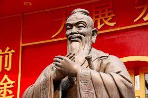 Confucio en la historia