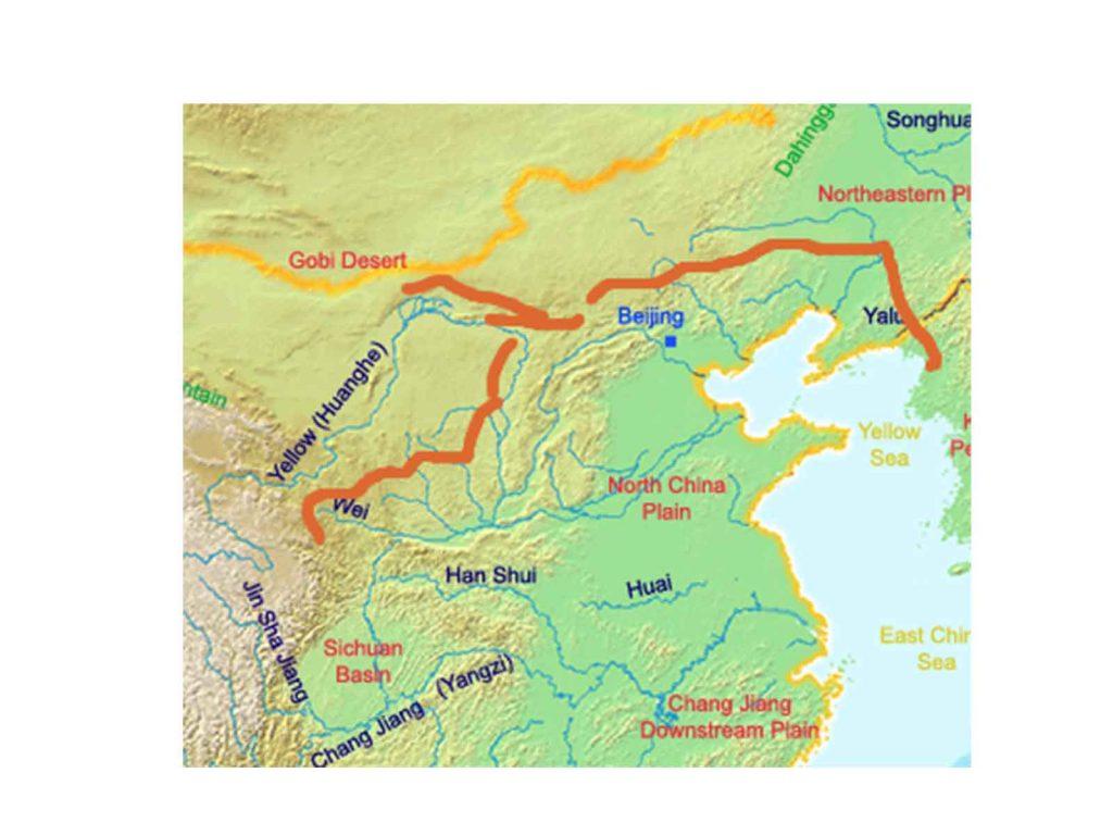 Gran Muralla de la época Qin