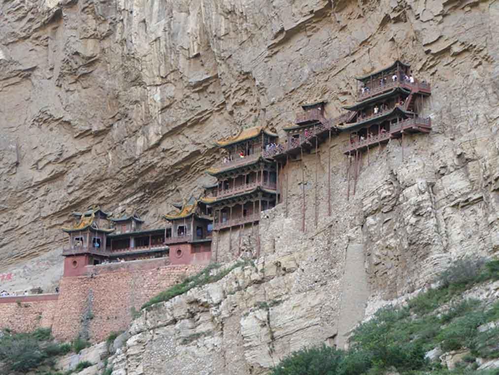 Ver el Monasterio Colgante de Xuankong en Datong