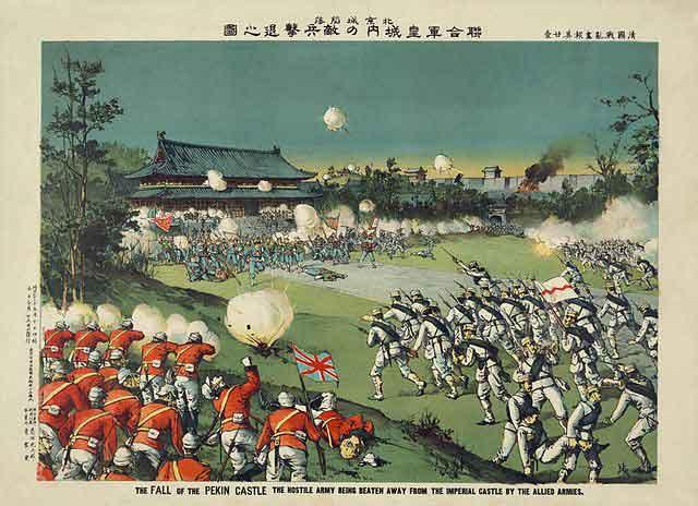 Batalla durante la revolución boxer