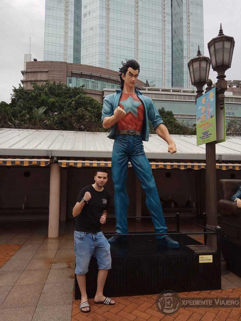 Avenida de las estrellas del cómic en Kowloon