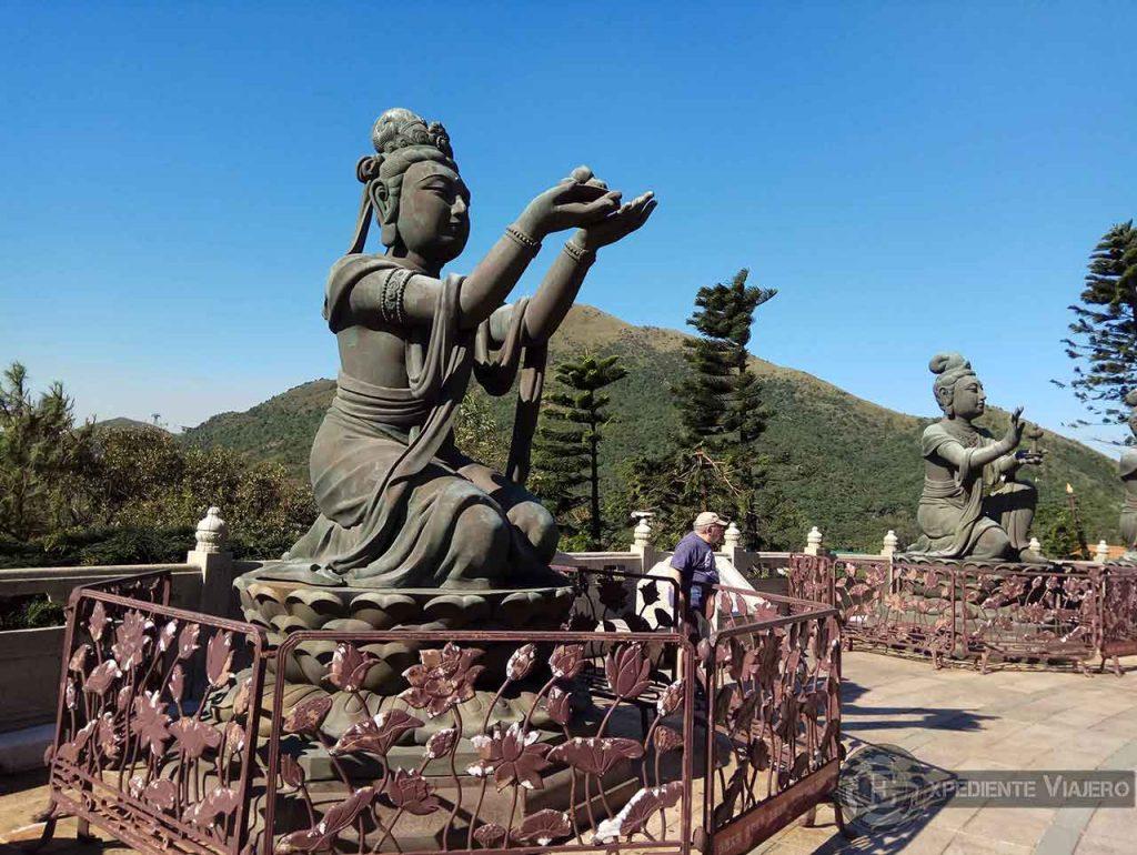 El gigante que esconde la isla de Lantau