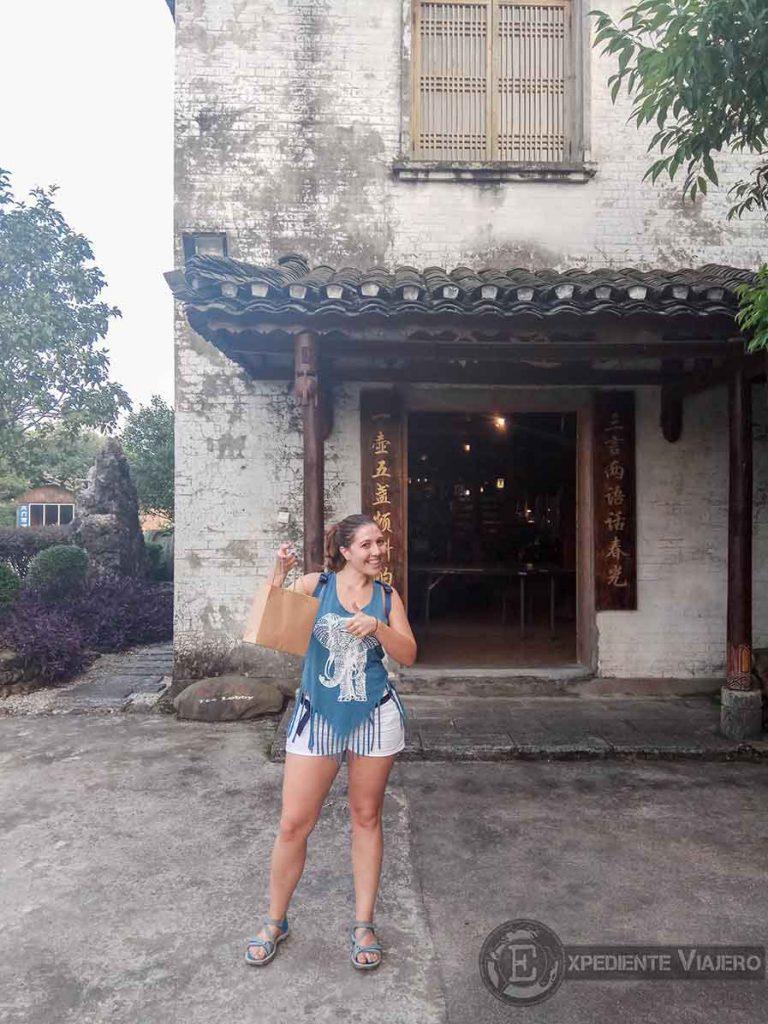 comprar té Guilin