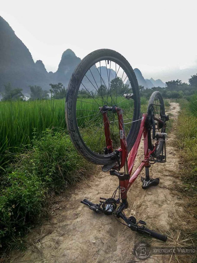 Ruta en bici por Yangshuo