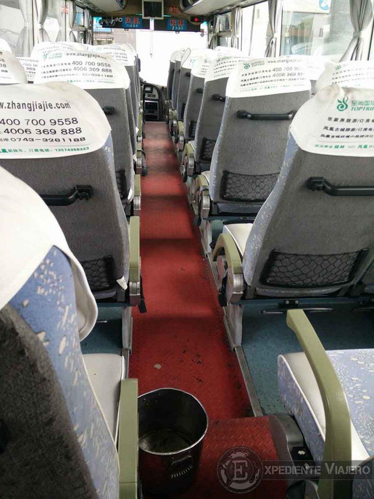 Preparativos: reservar bus viajando a tu aire por China