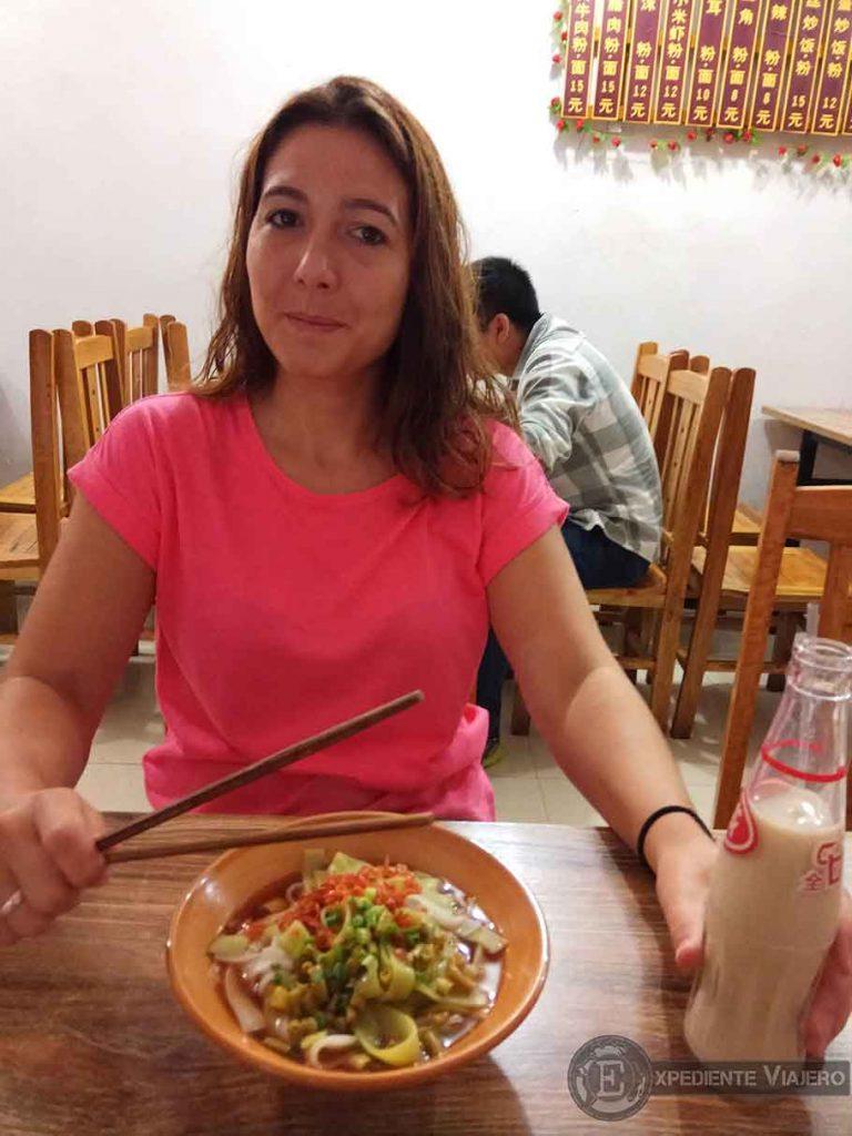 Desayuno en Fenghuang