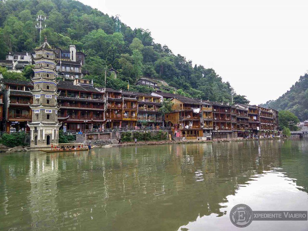 Pagoda una de las mejores cosas que ver en Fenghuang