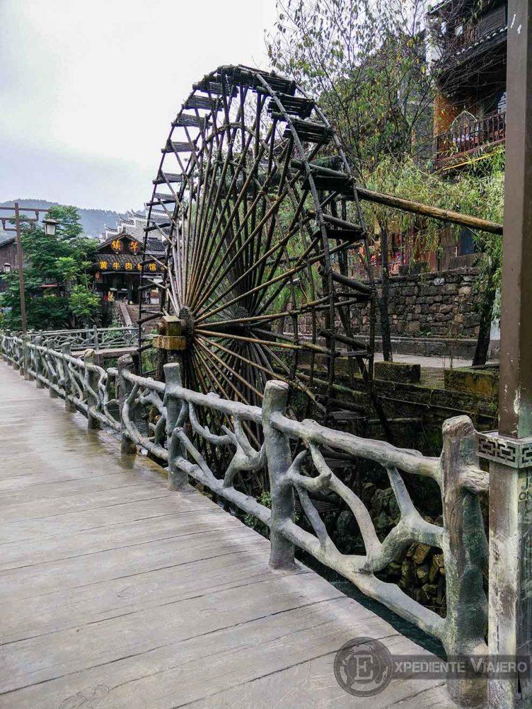Molina de agua de Fenghuang
