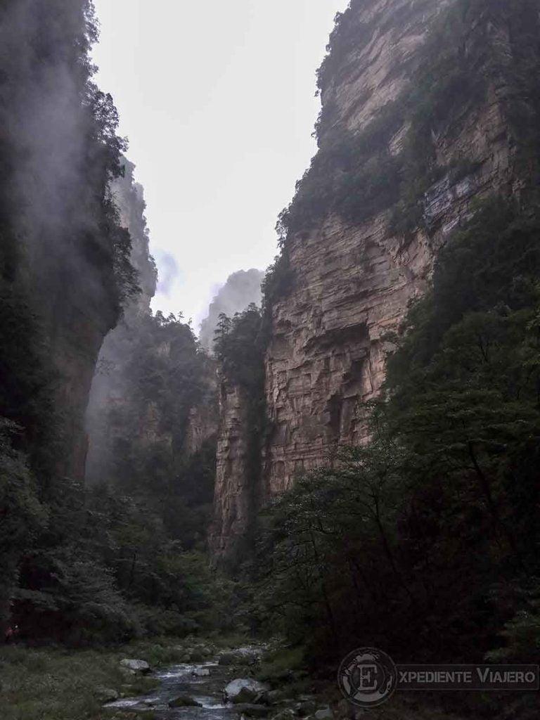 Trekking en el Parque Nacional de Zhangjiajie