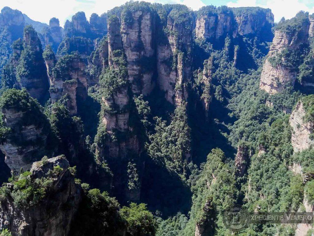 Mihun Tai o Enchanting Terrace en Yanjiajie