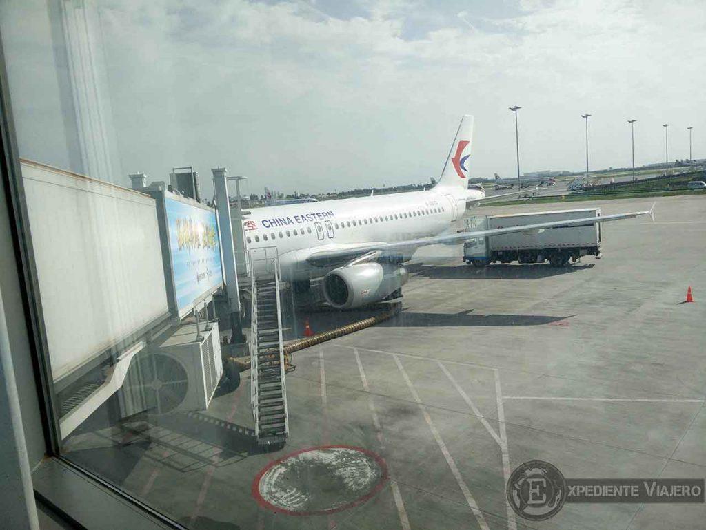 Coger avion China Eastern Airlines