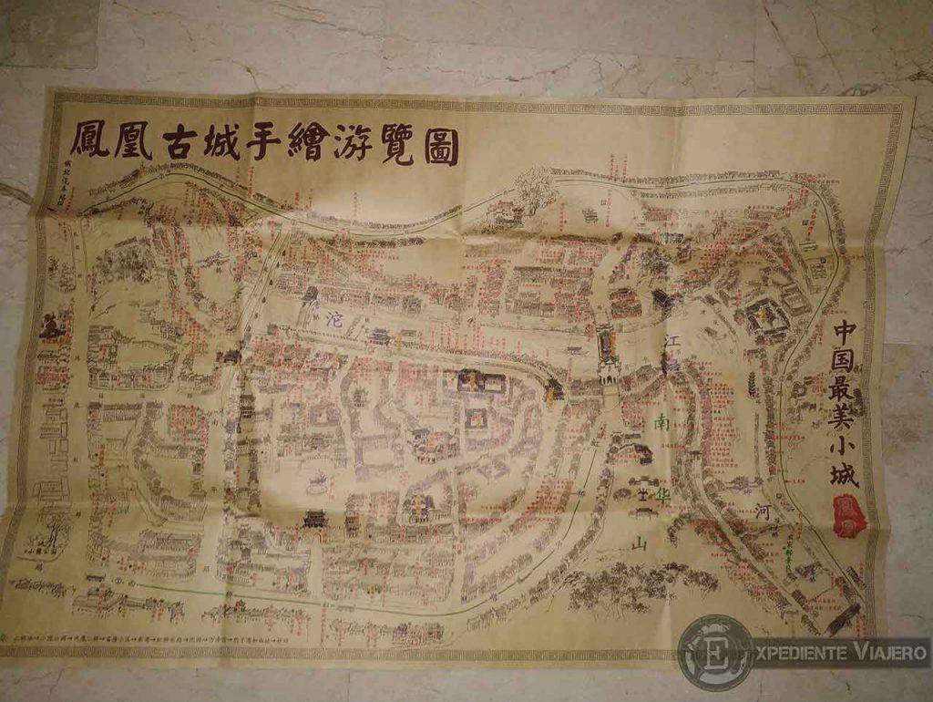 Mapa de Fenghuang