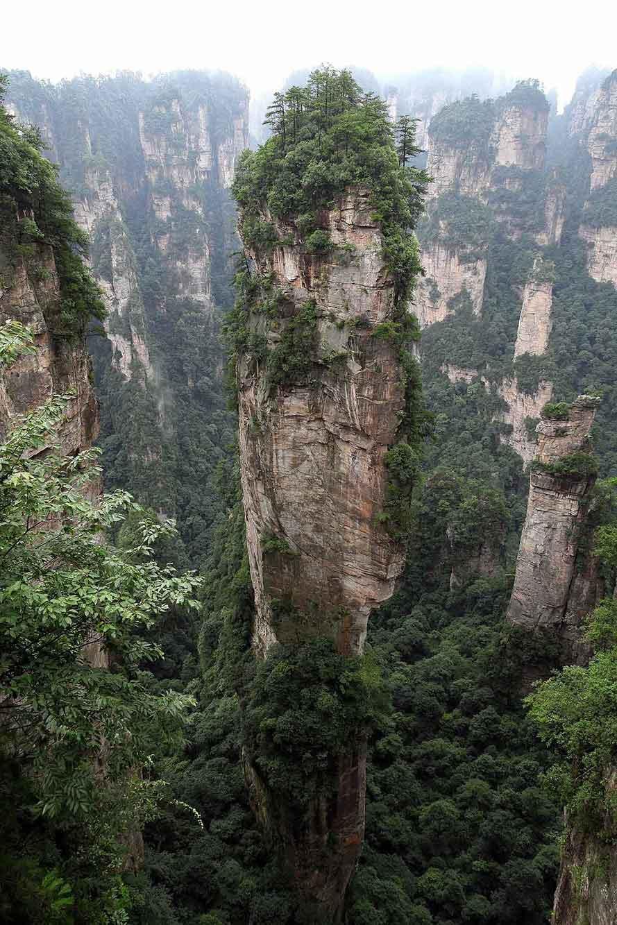 Parque Nacional de Zhangjiajie, guía para visitar