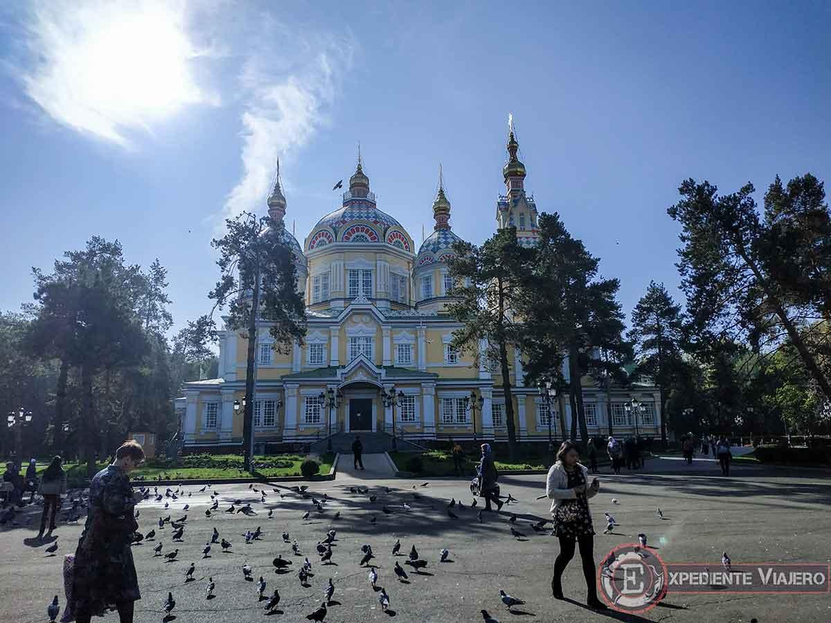 Qué ver en Almaty: Catedral Zenkov
