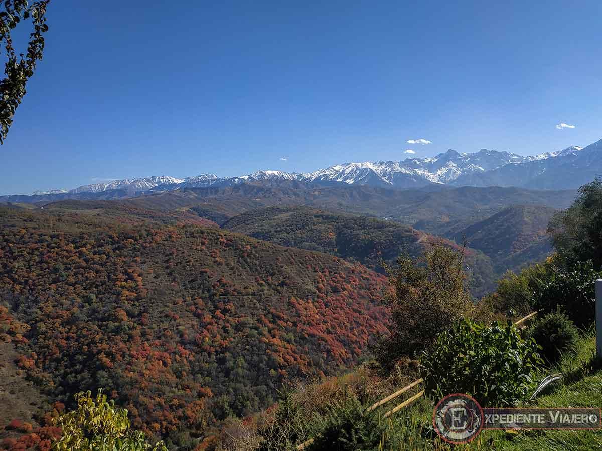 Qué ver en Almaty: montañas