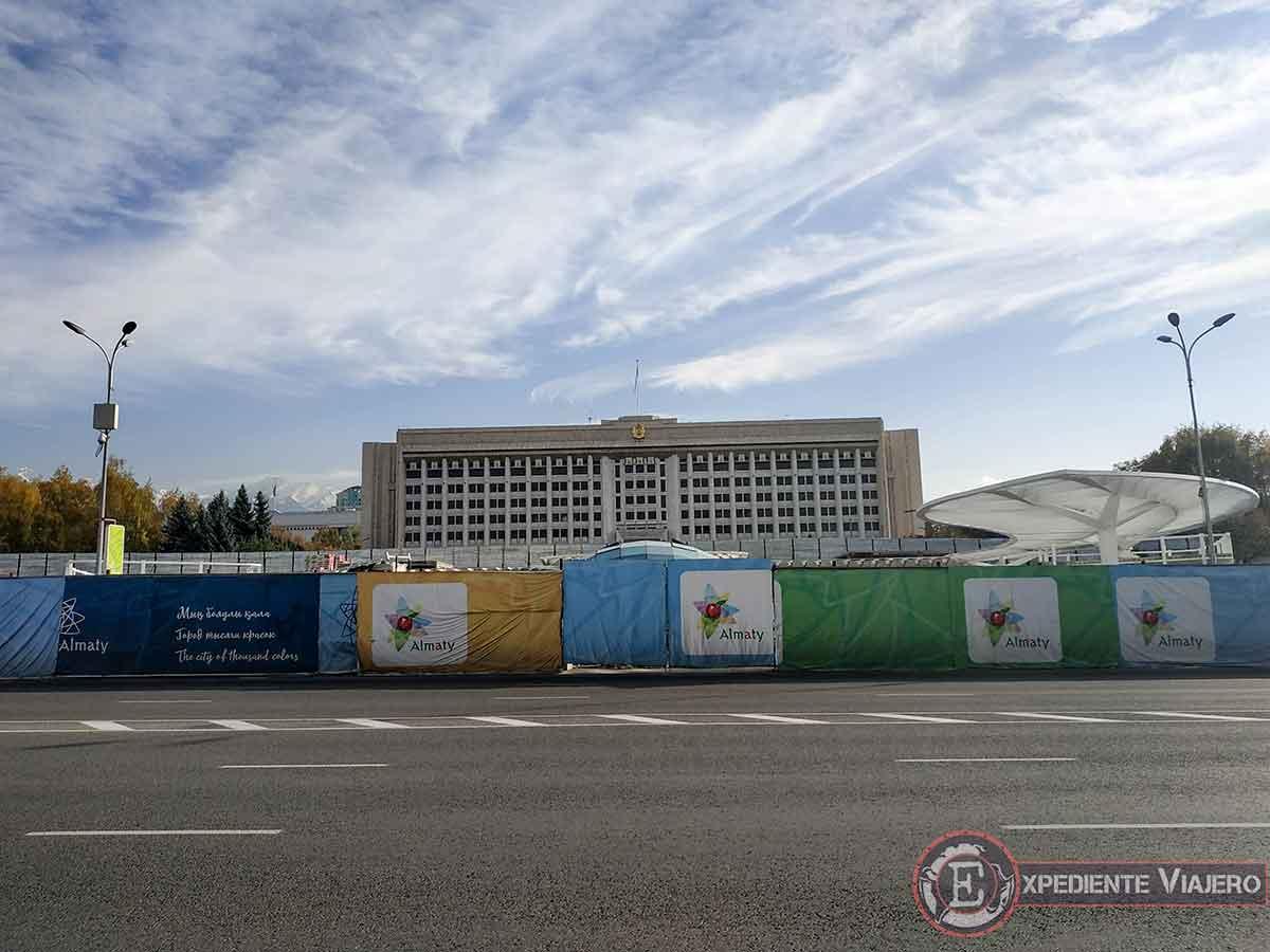 Qué ver en Almaty: Antigua sede del partido comunista