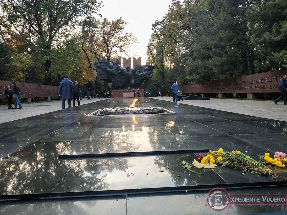Memorial de la 2ª Guerra Mundial en Almaty