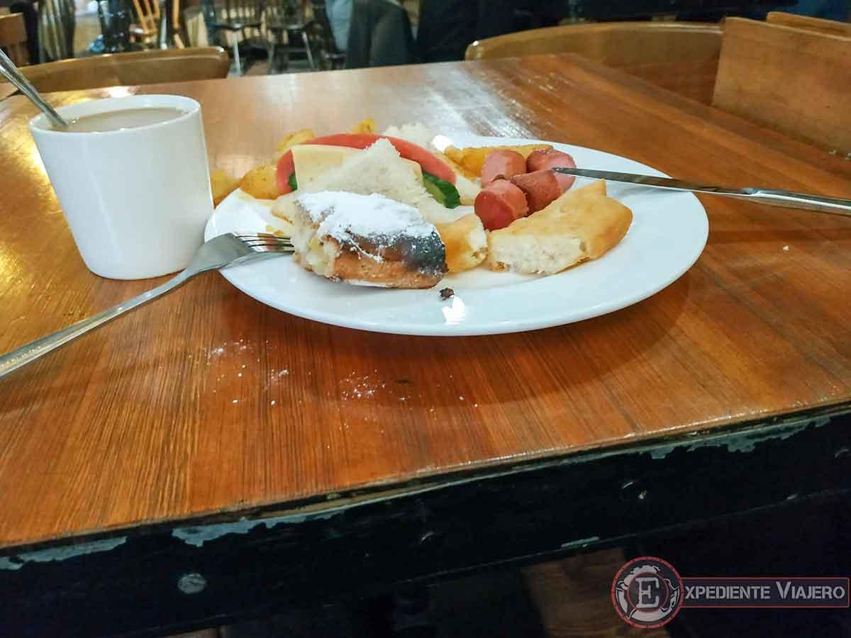 Desayuno incluido en Almaty