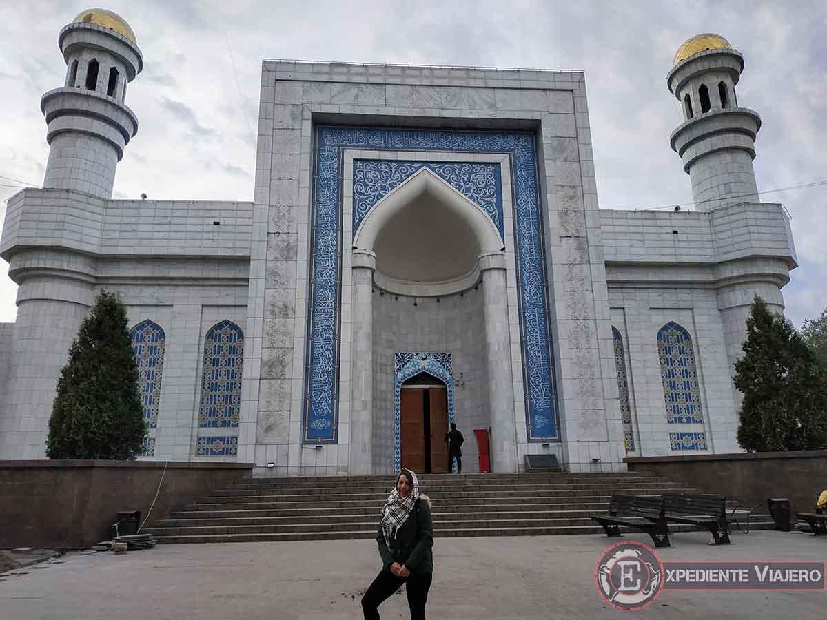 Turismo en Almaty: Mezquita Central