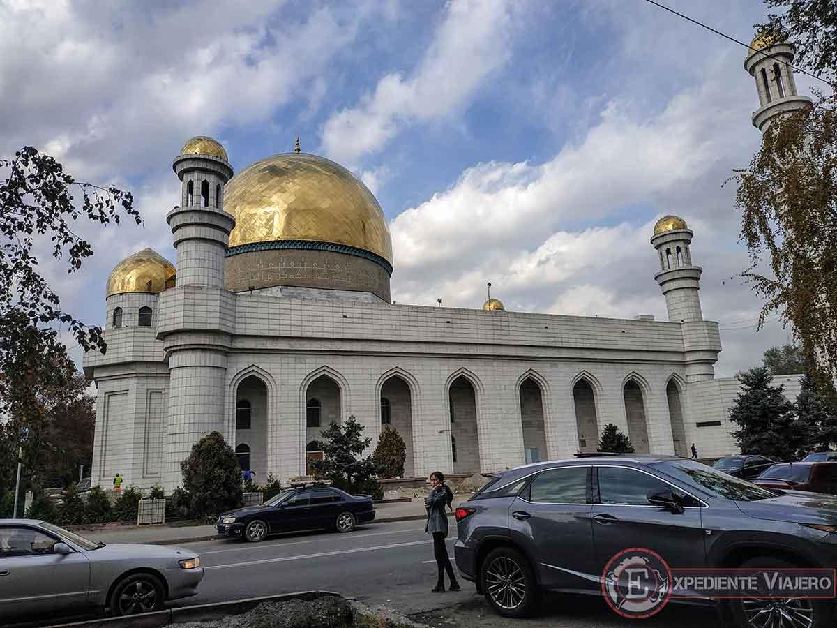 Turismo en Almaty, la mezquita central