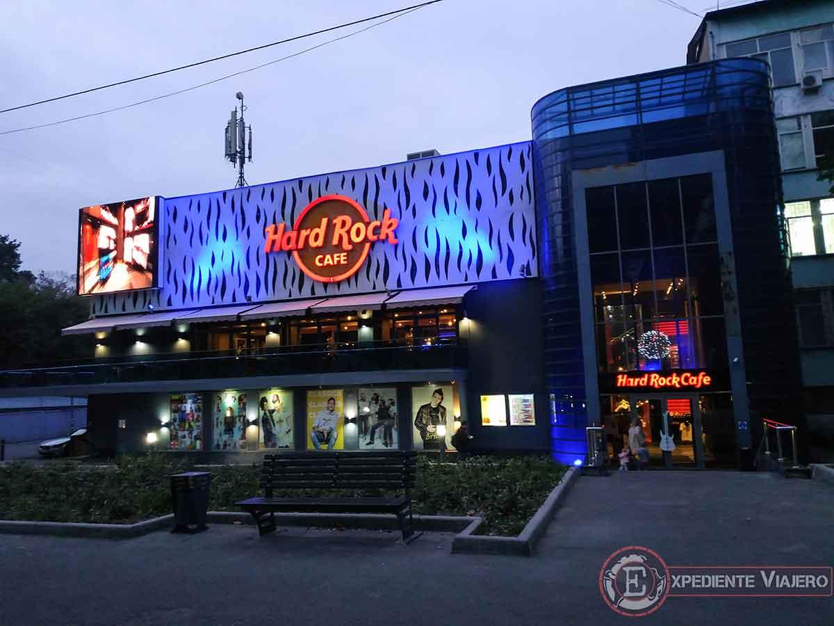 Hard Rock Cafe de Almaty