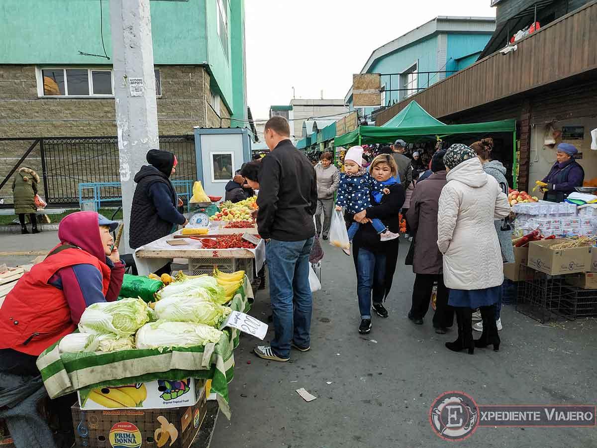 Green Bazaar por fuera