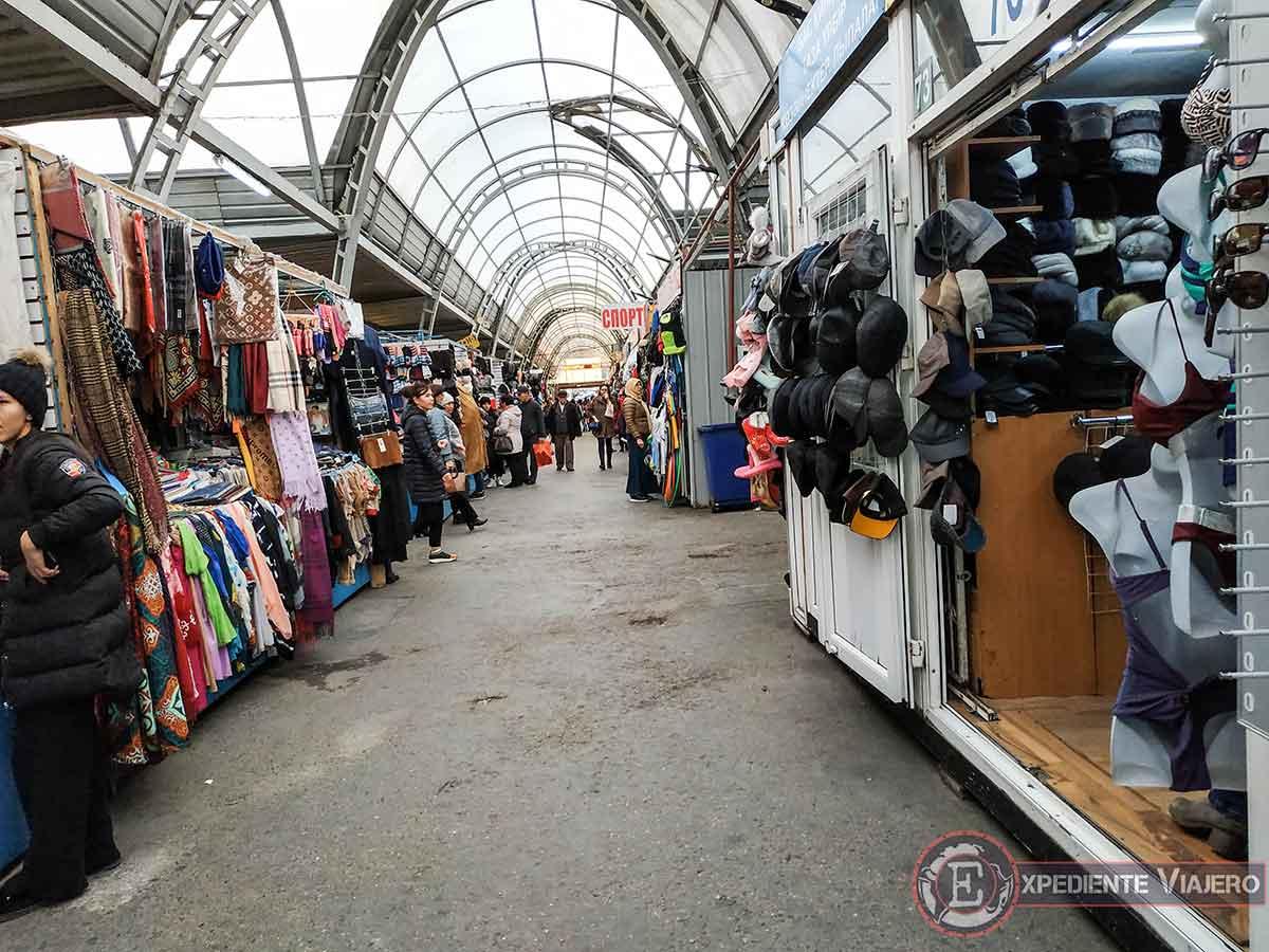 Ropa en el Green Bazaar