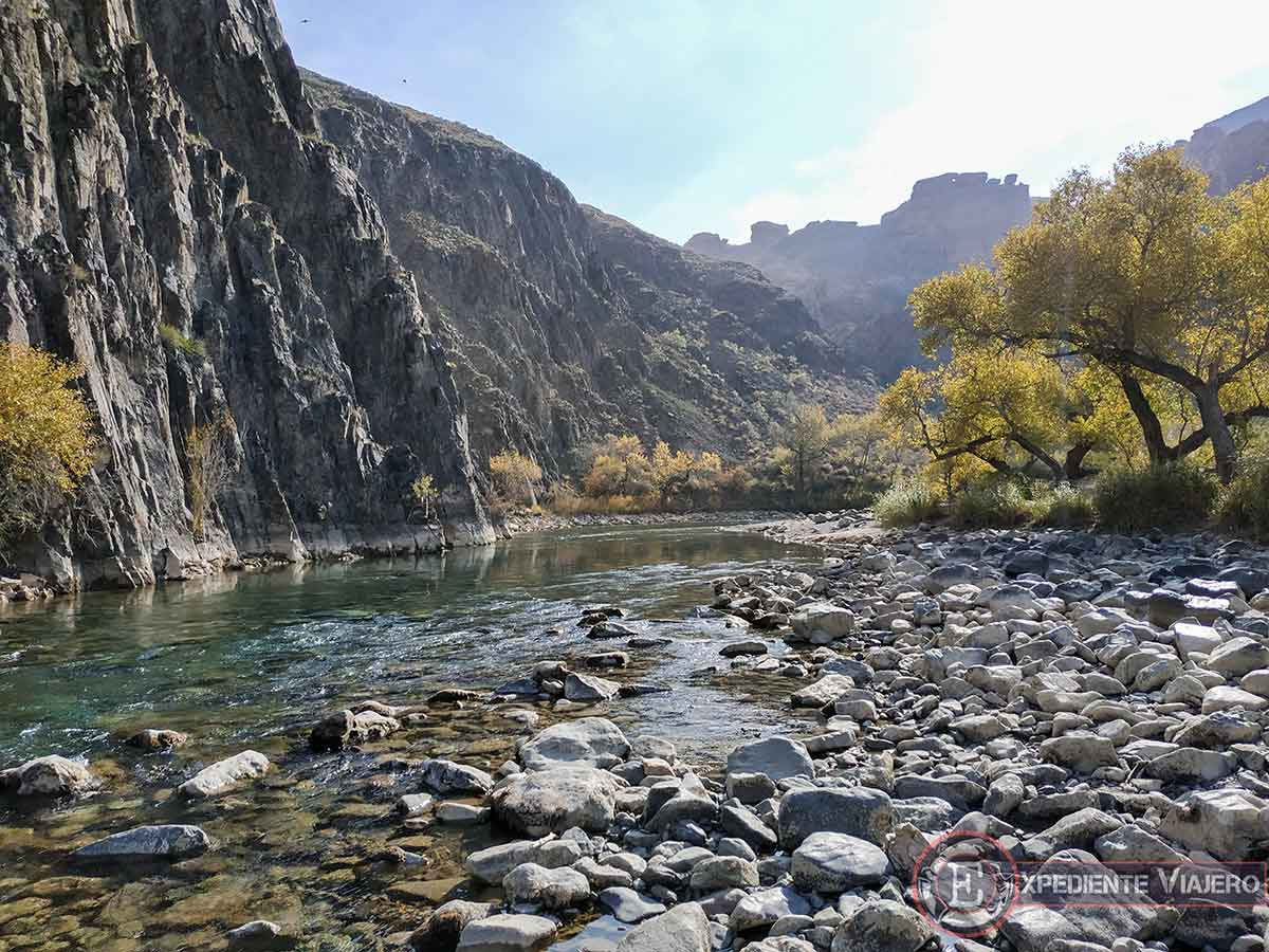 Lugares turísticos de Kazajistán: Río Charyn