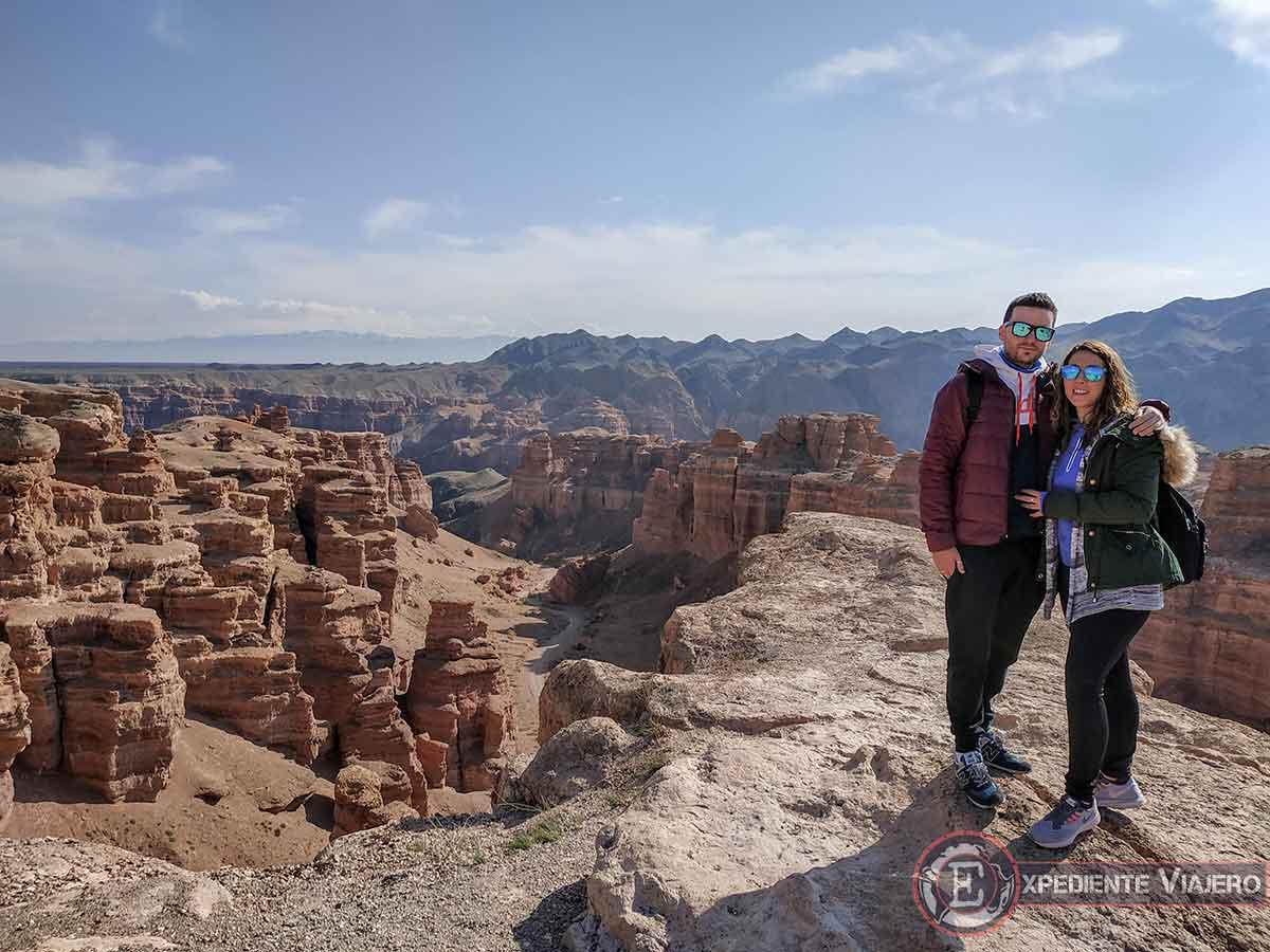 Mirador en el Charyn canyon