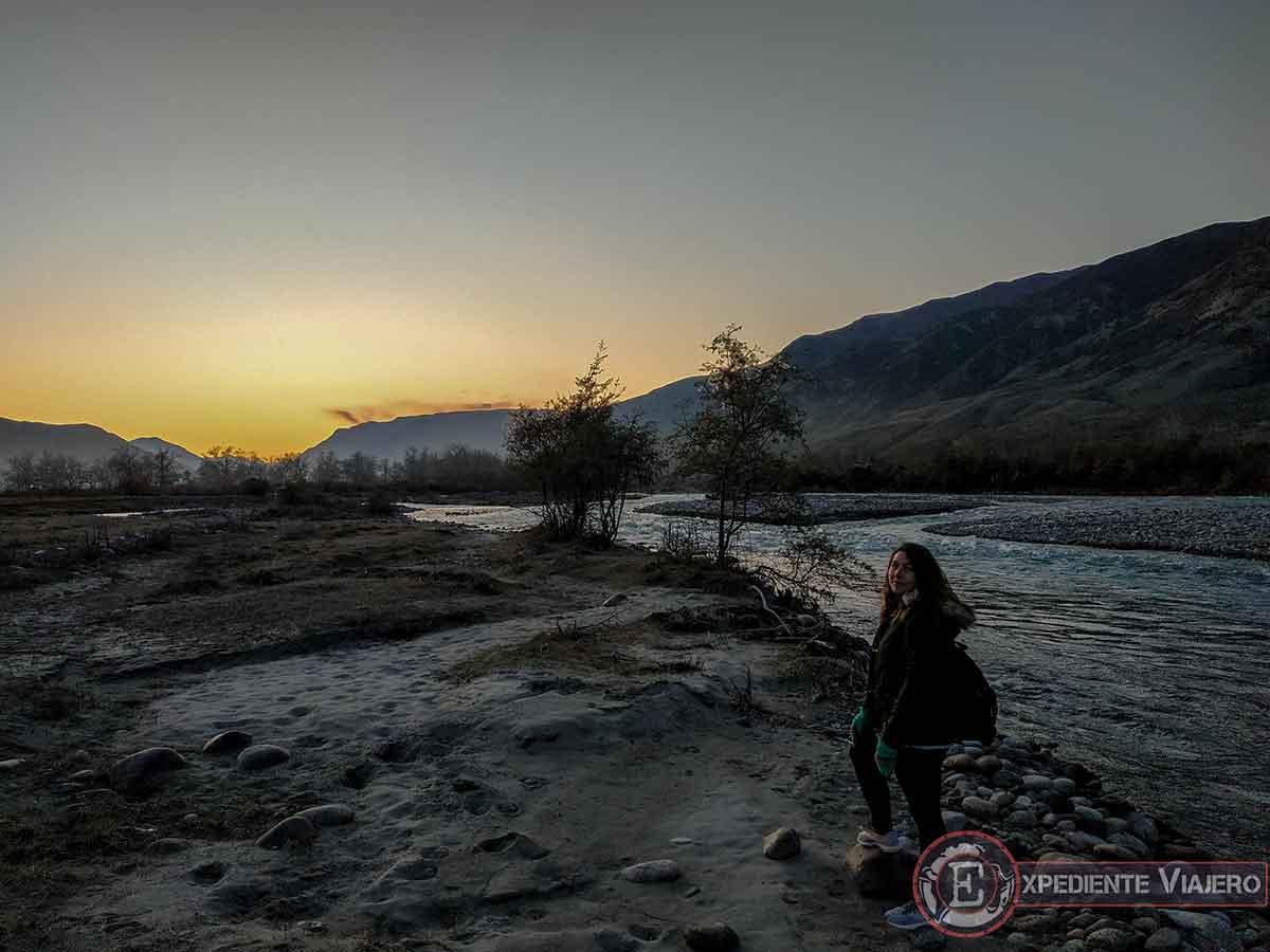 Río Shilik en Saty