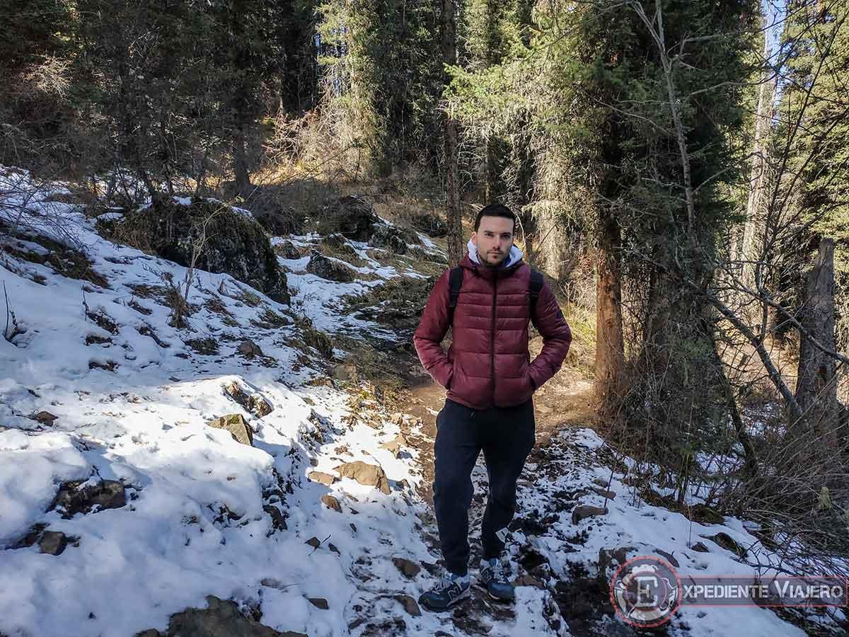 Nieve en el trekking