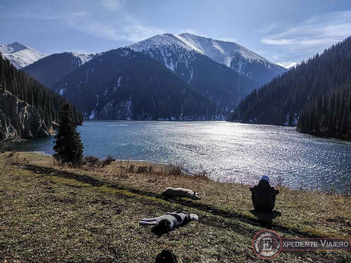 Vistas del lago Kolsai 2