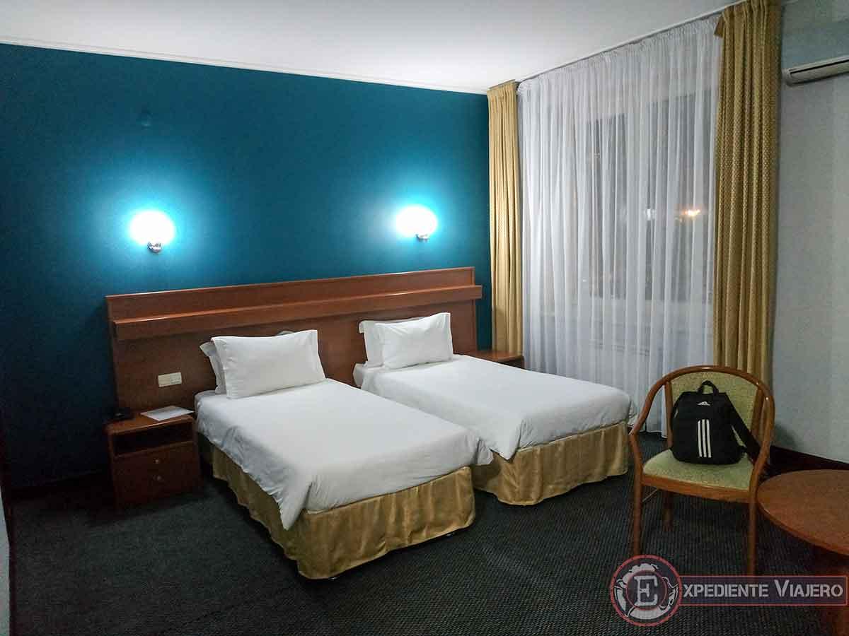 Habitación del hotel en Almaty
