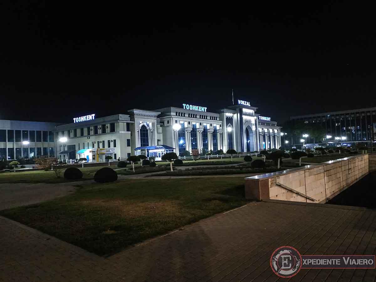 Estación de tren de Tashkent