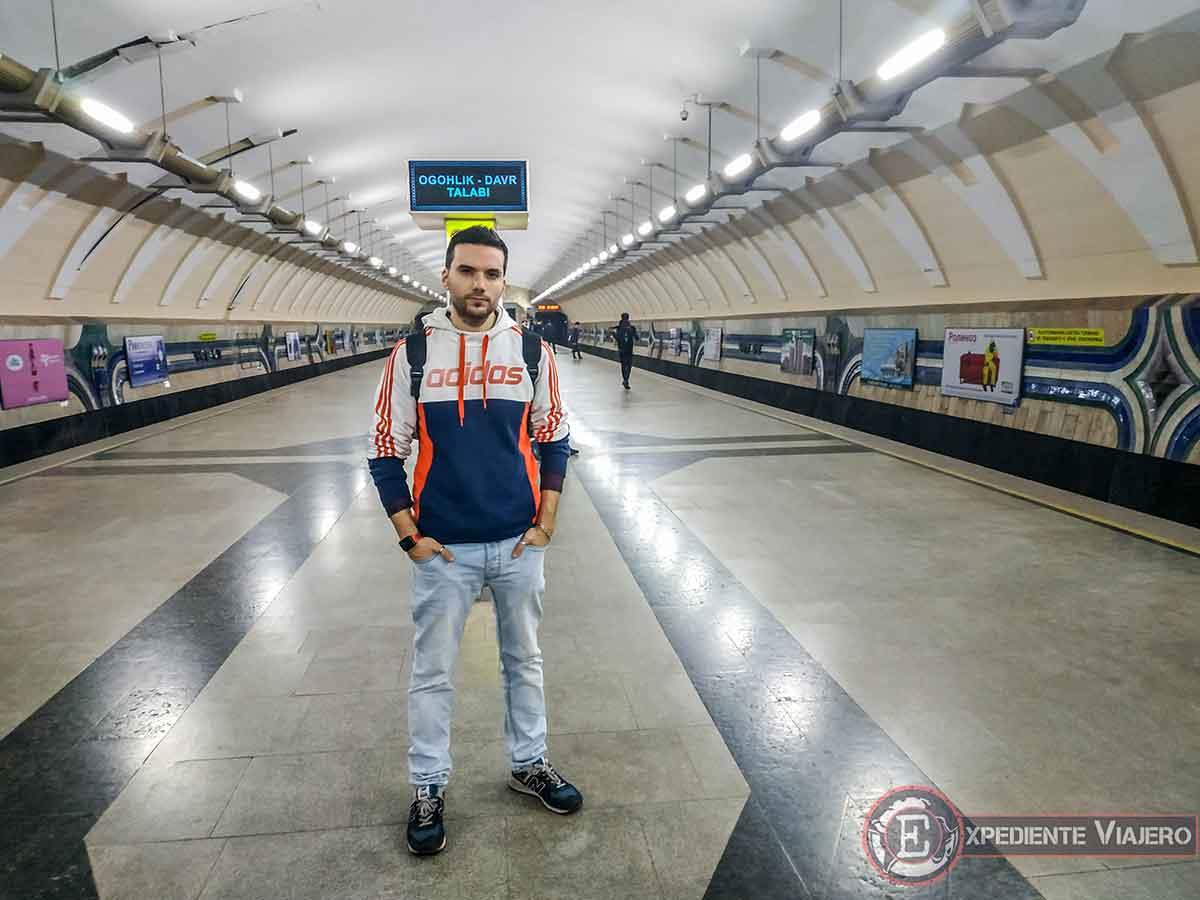Estación de metro Chorsu de Tashkent