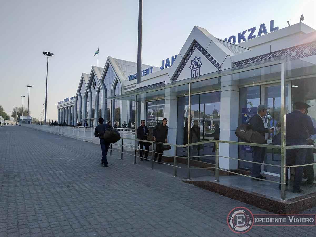 Estación de trenes Sur de Tashkent