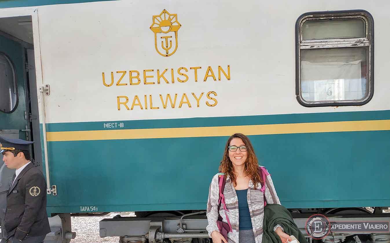 Tren de Tashkent a Samarcanda