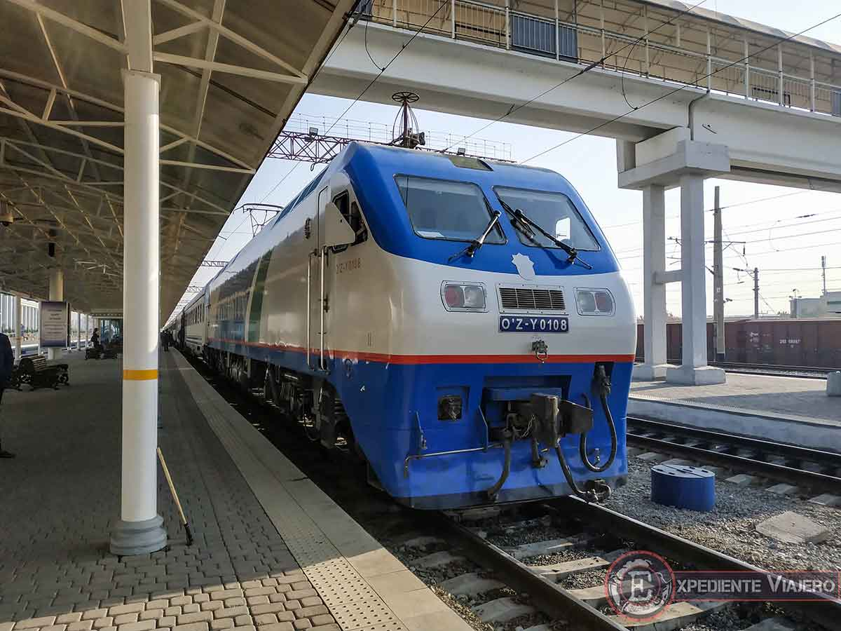 Tren Tashkent - Samarcanda