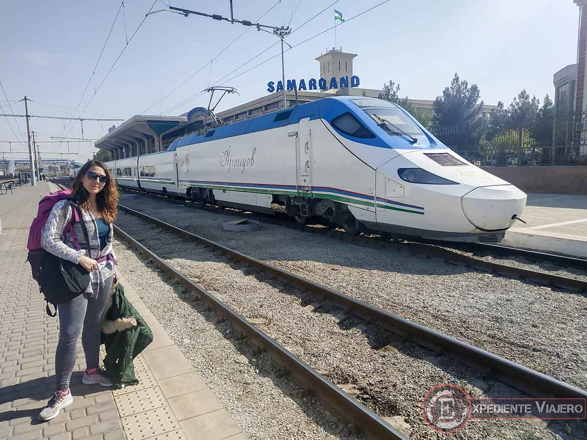 Estación de Samarcanda