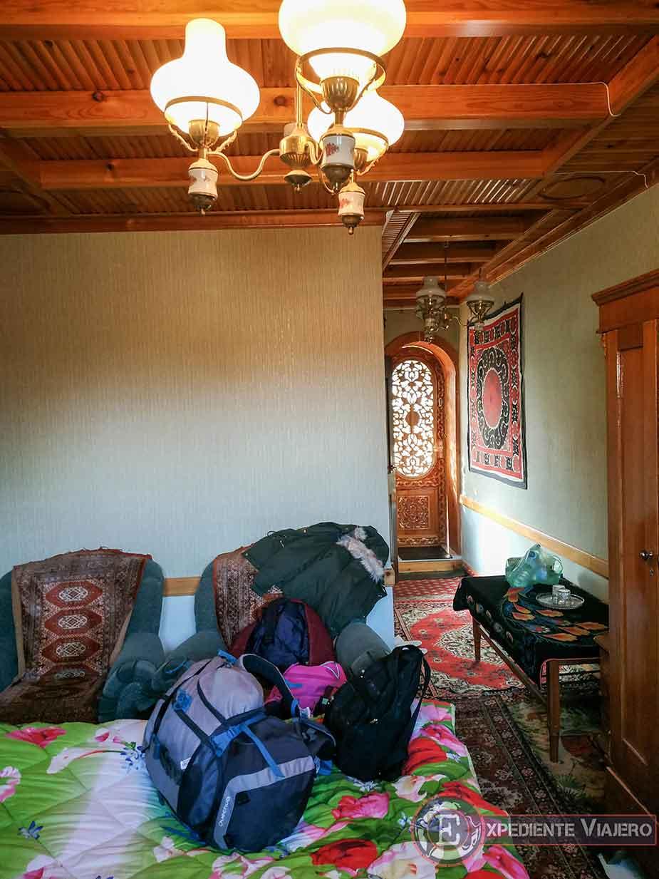 Nuestra habitación de Samarcanda