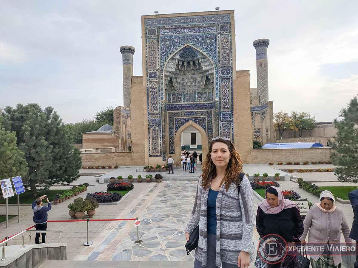Entrada de Gur-e Amir