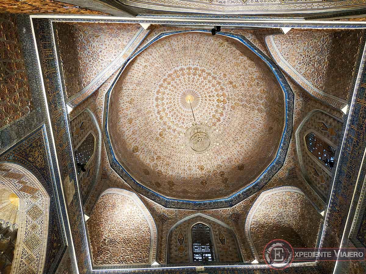 Techo del Gur-e Amir