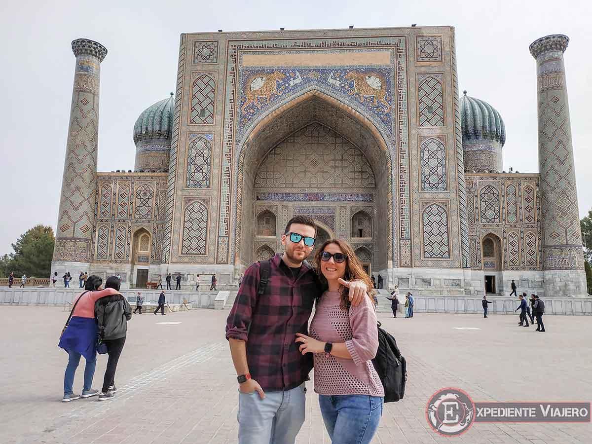 Qúe ver en Samarcanda: Registán