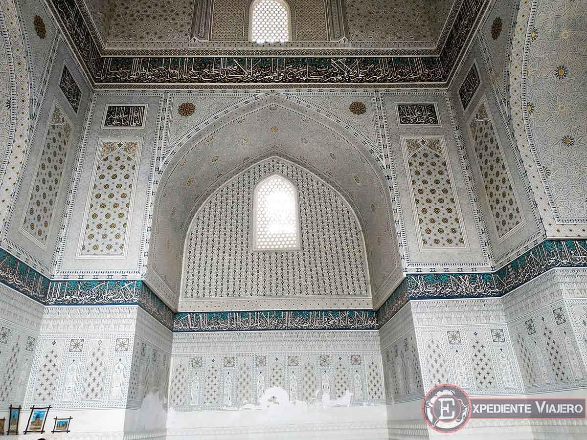 Inscripciones mezquita Bibi-Khanum