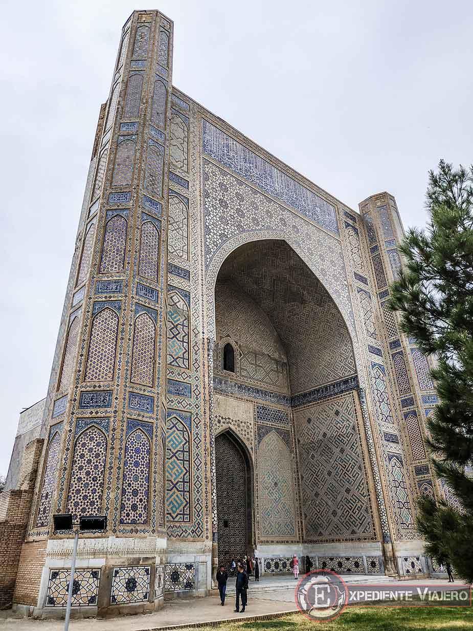 Gran mezquita Bibi-Khanum
