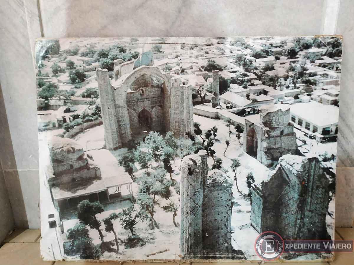 Ruinas de la mezquita Bibi-Khanum