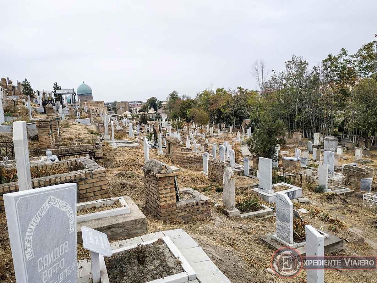 Cementerio árabe en Samarcanda